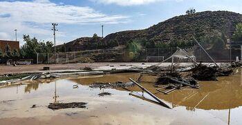 Obras por 260.000 € en el campo de fútbol de Santa Bárbara