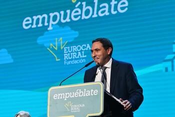 Chana clausura 'Empluébate' de la Fundación Eurocaja Rural