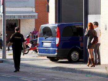 Prisión para cuatro de los policías detenidos en Extremadura