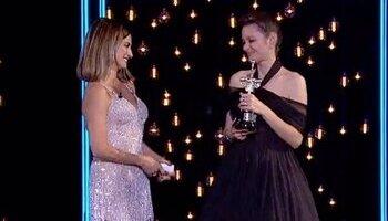 Marion Cotillard recibe el premio Donostia por su trayectori