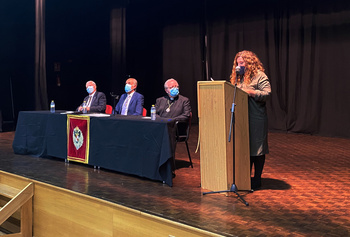 Isabel Ralero, nueva académica numeraria de la Rabacht