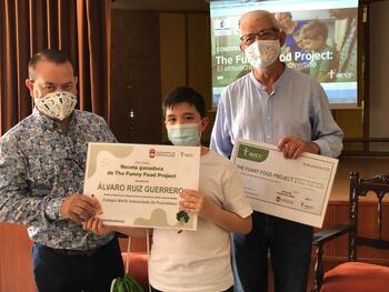 Álvaro Ruiz Guerrero gana el concurso saludable de AECC