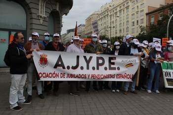 Ajype Ciudad Real se manifiesta en Madrid