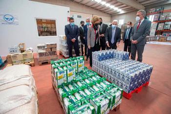 La reina Sofía defiende la labor de los bancos de alimentos