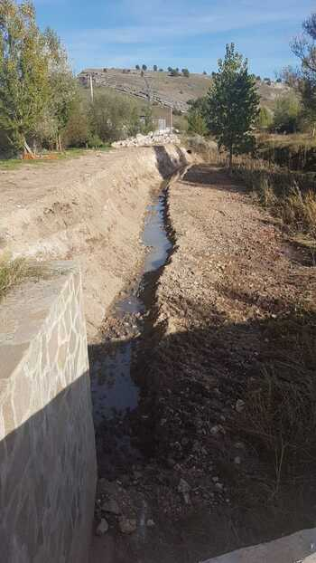 Vecinos de Hontoria piden ampliar las obras del río Lobos
