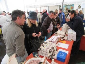 42 estands en la Feria de la Alubia de Saldaña