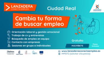 Ciudad Real contará con una lanzadera de empleo desde marzo
