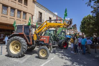 Asaja Ciudad Real, en la tractorada en defensa del regadío