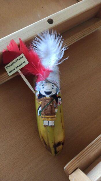 Plátanos solidarios con La Palma