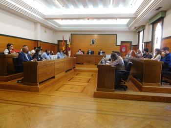 Pleno presencial en el Ayuntamiento de Villarrobledo