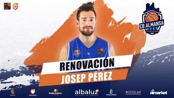 Josep Pérez renueva con el CB Almansa