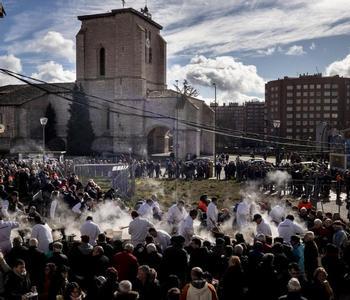 Este año no se ha podido celebrar la tradicional fiesta de los titos en Gamonal.