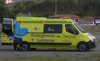 Fallece un joven de 25 años en una salida de vía en Burgos