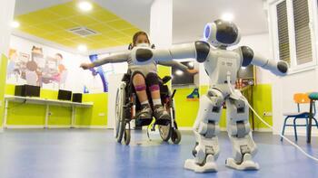 Parapléjicos experimenta con robótica en niños lesionados