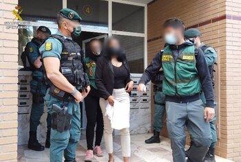 5 mujeres liberadas y 10 detenidos por explotación sexual