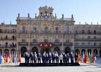 El Rey preside el arranque de la Conferencia de Presidentes