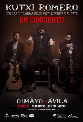Aplazado al 1 de mayo el concierto de Kutxi Romero