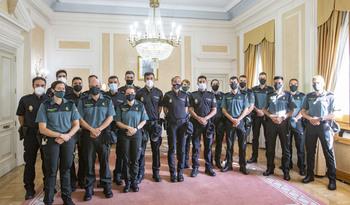 20 agentes en prácticas en Policía Nacional y Guardia Civil