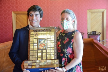 Tomelloso felicita a Gonzalo Rodríguez, campeón de España