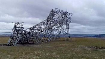 23 incidentes por el viento y cortes de luz en la provincia