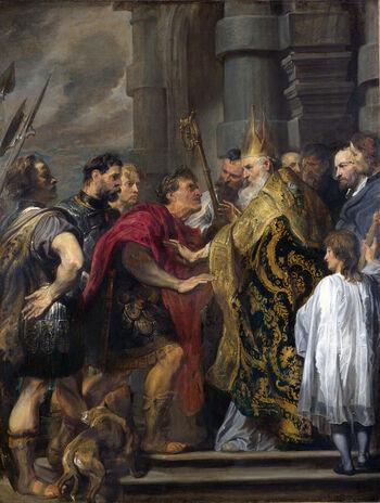 La quinta conquense del emperador Teodosio