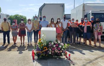Villacañas llora a las cuatro víctimas de la feria de 2011