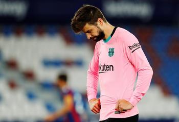 El Barça se deja dos puntos y media Liga ante el Levante