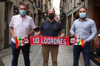 La Laurel se anunciará en los partidos de la UDL en Logroño