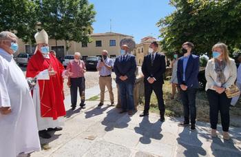 Una nueva señalización marca el Camino de Santiago en Ávila