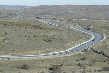 La A-40 avanza en Castilla-La Mancha y se olvida de Ávila