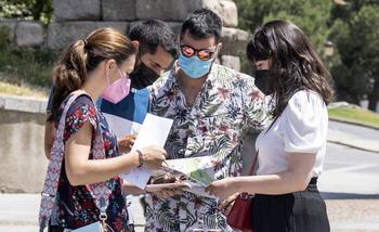 El turismo aún no alcanza el 30% de lo que era en Segovia