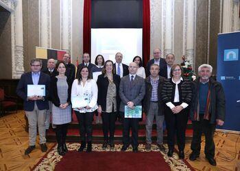 Imagen de archivo de la entrega de los Premios Generando valor rural en su edición de 2018.
