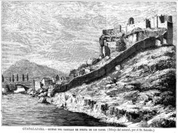El Castillo de Zorita de los Canes