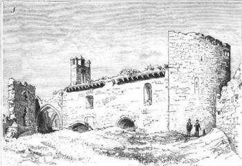 La capilla o ermita del castillo de Zorita de los Canes