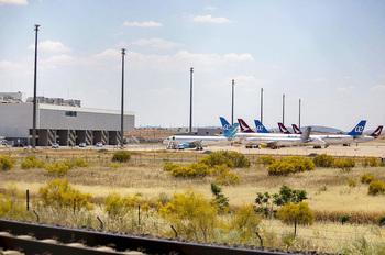 El aeropuerto de Ciudad Real cierra el espacio aéreo
