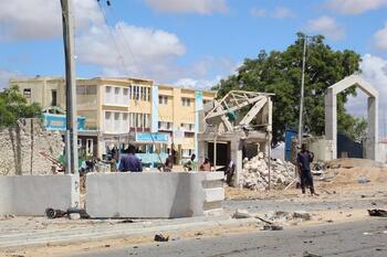 Trece muertos en un ataque contra la Policía en Mogadiscio