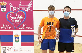 El Squash Palencia copó el podio en Santa María del Páramo