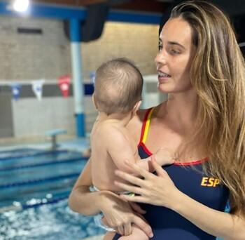 Ona Carbonell carga contra Tokio 2020 por su bebé lactante