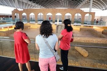 La Olmeda recibe 13.200 visitantes en lo que va de año