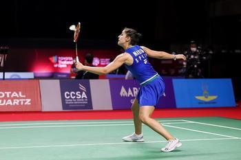 Carolina Marín pone la directa a las semifinales de Tailandi