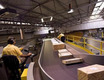 Correos repartió 1,5 millones de paquetes por la provincia