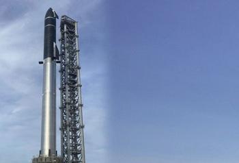 El Starship se convierte en el cohete más alto del mundo