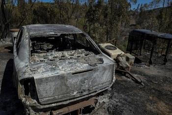 Un incendio arrasa mil hectáreas en Santa Coloma de Queralt