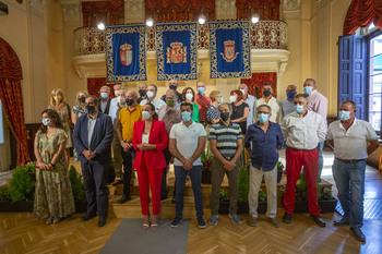 Ciudad Real reconoce su trabajo a 32 funcionarios jubilados