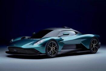 Aston Martin muestra su prototipo 'Valhalla'