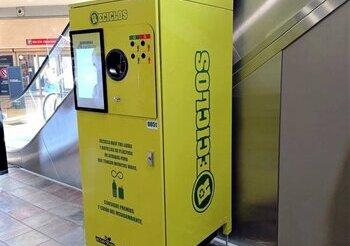 Berceo incorpora máquinas Reciclos que premian el reciclado