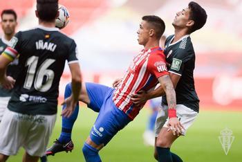 Imagen del Sporting-UDL del pasado 12 de septiembre.