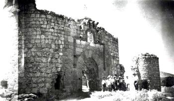 Castillo de San Silvestre de Maqueda (Archivo Diputación Provincial de Toledo).