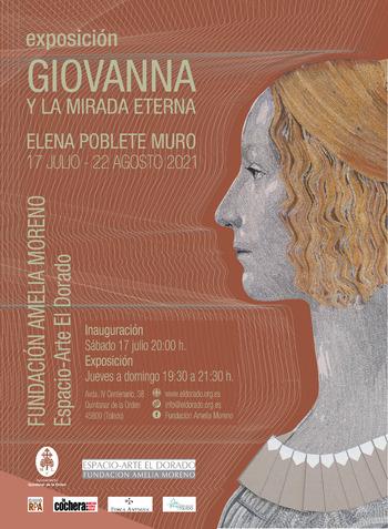 'Giovanna y la mirada eterna' en la Fundación Amelia Moreno