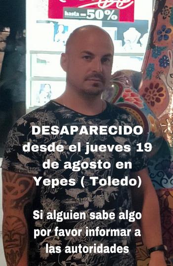 Hallan sin vida a un desaparecido en Yepes
